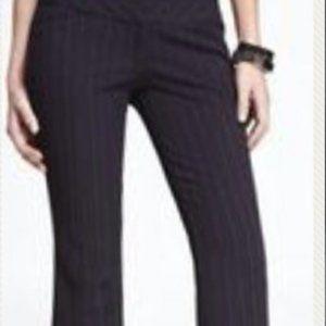 Express Design Studio Blue Pinstripe Wide Leg 6R